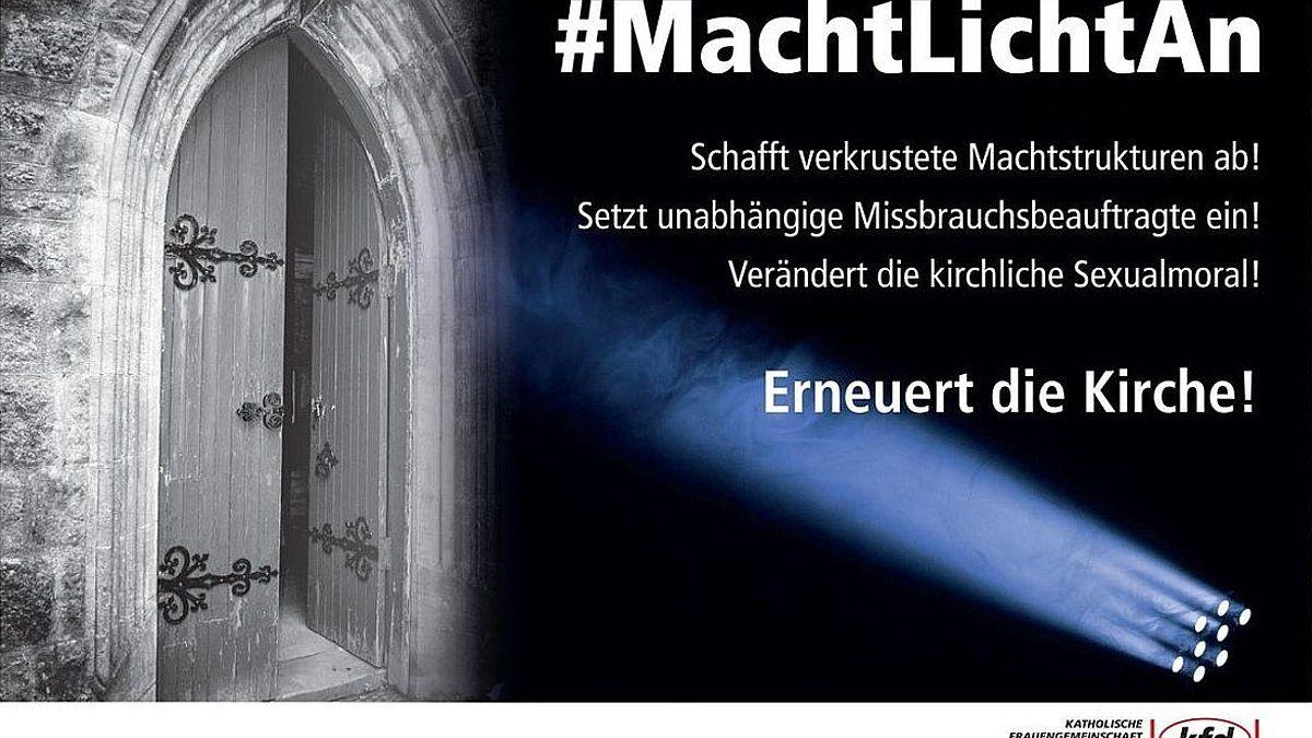 #MachtLichtAn: Frauen-Aktion zur Erneuerung der Kirche